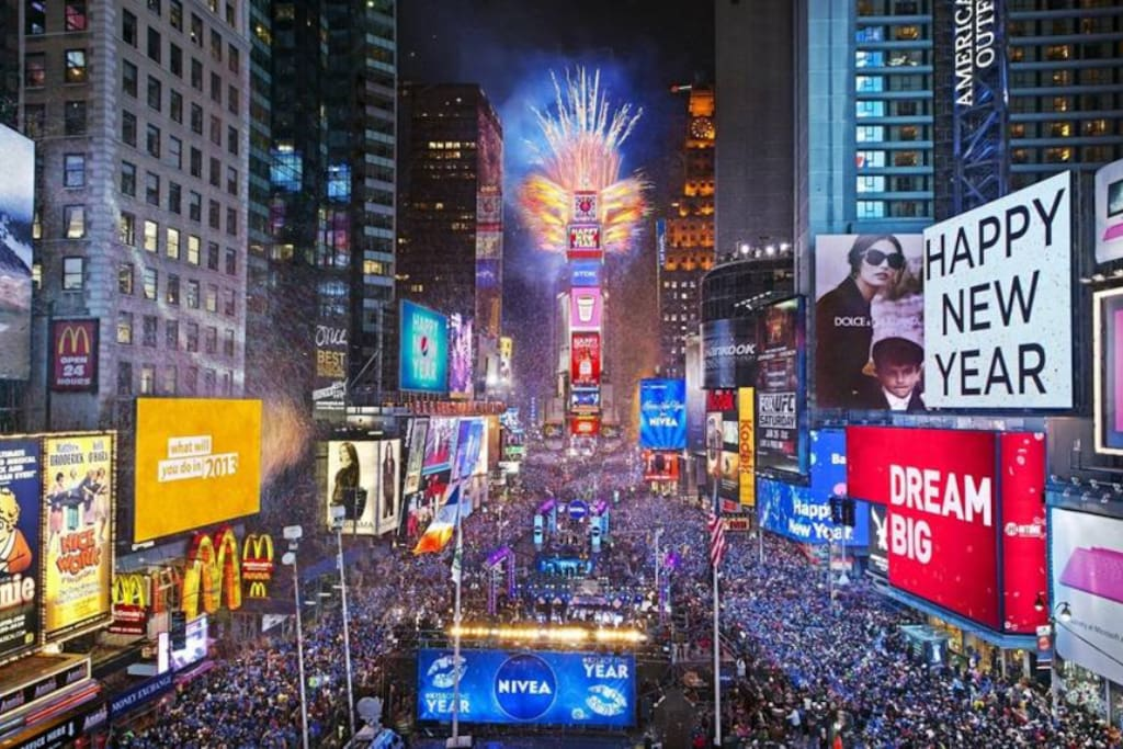New year's celebration -Times Square.