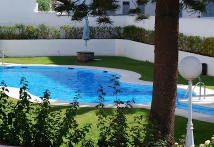 Central nerja apt close to beach with pool - Nerja