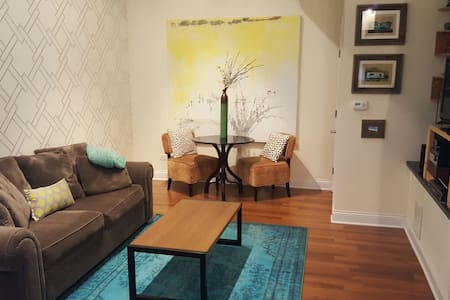 Turquoise Wonder - Clean, Cozy & Stylish Apt - Chicago - Apartment
