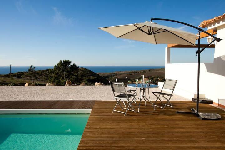 """""""Villa Terra Mar"""" Moradia c/piscina - Ericeira - Hus"""
