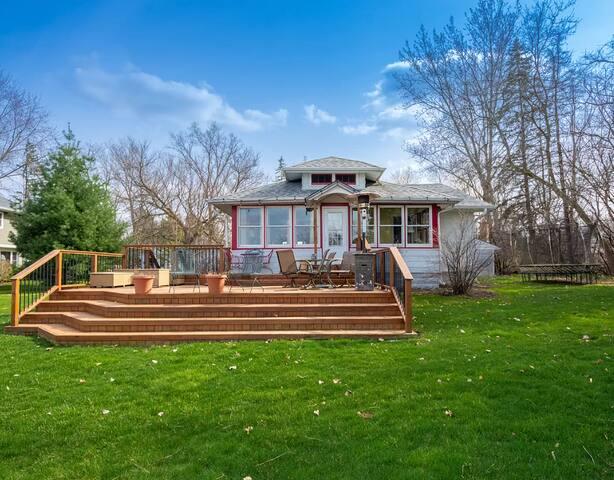 Lake Resort-like property with 2 houses!