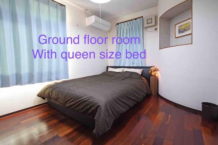 11 m²ワイドダブルベッド