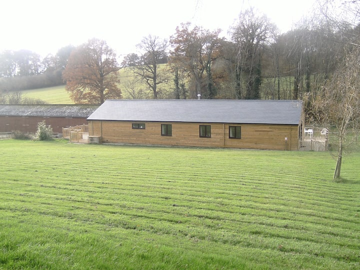 Self catering holiday bungalow on working farm