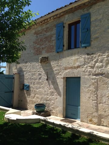 Light and spacious Quercy stone village house - Saint-Amans-de-Pellagal - Hus