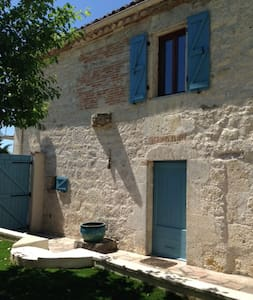 Light and spacious Quercy stone village house - Saint-Amans-de-Pellagal