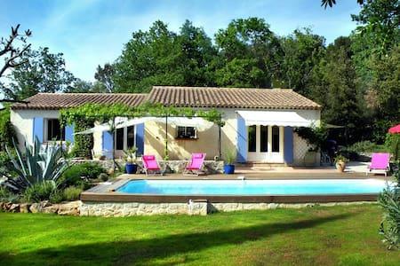 Très agréable villa avec piscine en Provence Verte - Néoules