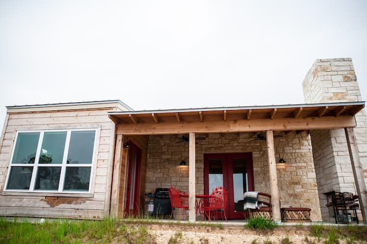 The CeCe, 1 BR w/fireplace @ Hill Country Casitas
