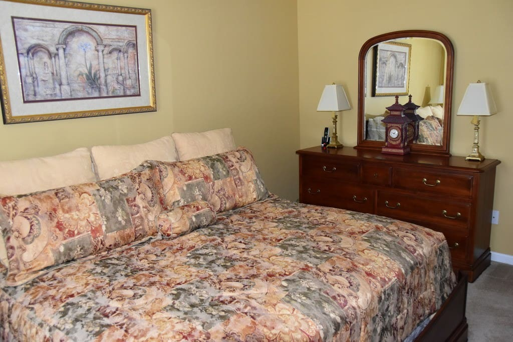This is the private bedroom.