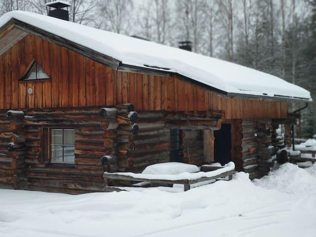 Ski-in Mökistä suksilla suoraan mäkeen tai ladulle
