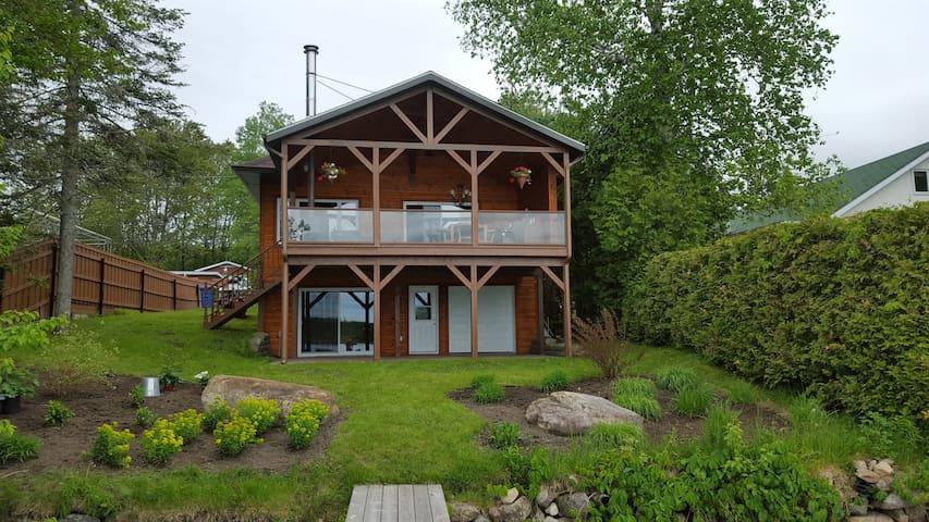 Maison bord de lac Adstock - Adstock
