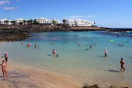 Double bedroom in a residencial - Costa Teguise - Reihenhaus