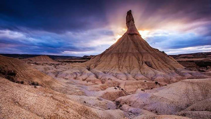 Tourisme au désert des bardenas