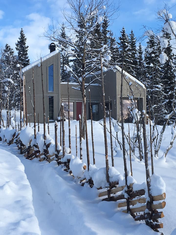 Skogkanten Mikrohus på 48m2 bygd 2018 Naturtomt