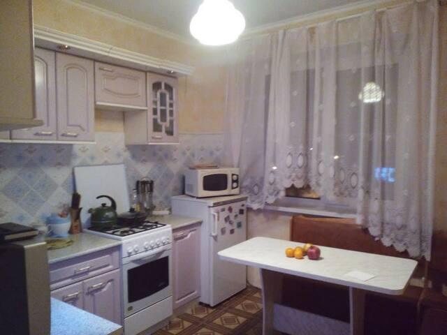 Уютная квартира с видом на р. Днепр