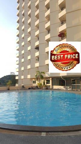 Riverside quiet condon/pool/wifi/Near night Bazaar - อำเภอ เมือง - Apartamento