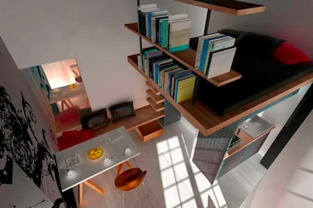 "Very ""original "" apartment of 15 square meters - Neapol"