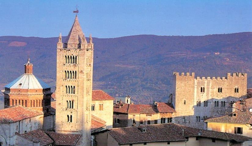 Casa Arco - Toskana-Ferienwohnung mit Dachterrasse