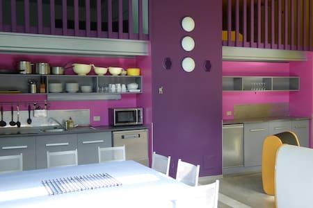 Loft XL, idéal pour grandes familles ou entre amis - Antraigues-sur-Volane - Condominium - 0
