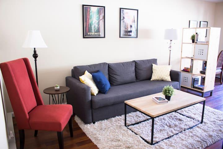 Modern Business Travel Apartment - Santa Clara - Condominio