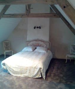RosaLine : Chambre d'Hôtes + Espace Spa et Sauna - Saint-Thélo - Rumah Tamu