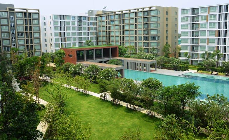Brand new premium condominium.