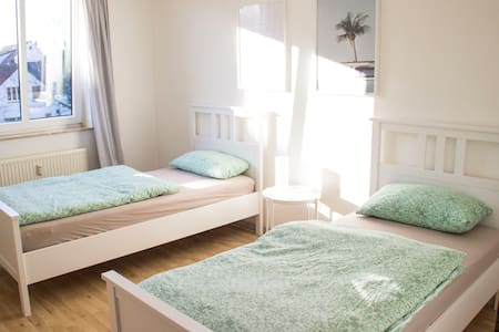 Very central & close to main station (+Netflix)