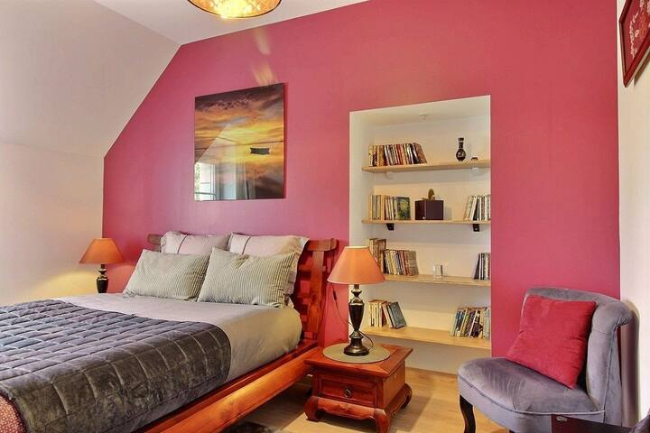 Chambre Double B&B , Sdb Privée, 5' mer, ST Malo - Ploubalay - Haus