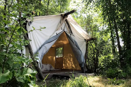 Manitoulin Permaculture Gardenside North Tent
