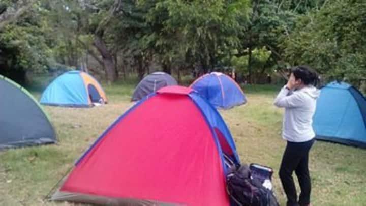 Camping in La GÜETA Escuela de la Naturaleza