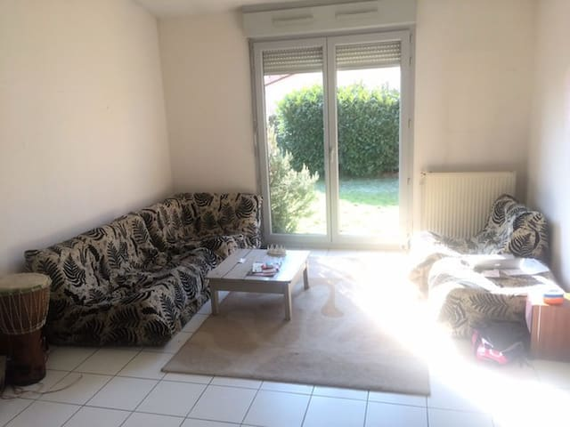 Hyper Quiet South-facing Room w Garden & Happiness - Toulouse - Huis