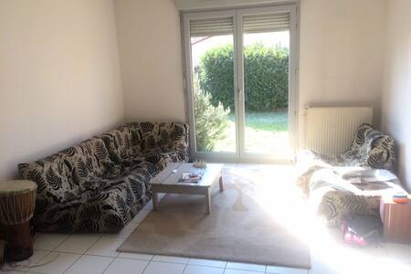 Hyper Quiet South-facing Room w Garden & Happiness - Toulouse - Talo