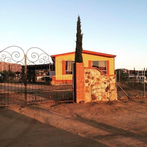 Wine Dream's Ensenada B.C. - San Antonio de las minas - Huis