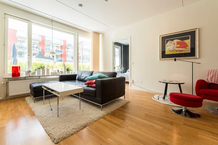5 beds 10 min to Stockholm city - Nacka - Apartment