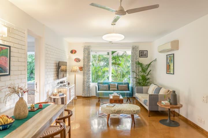 Splendid 2bhk apartment closer to Candolim