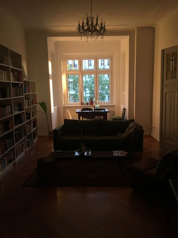 Large room + balcony in shared apt