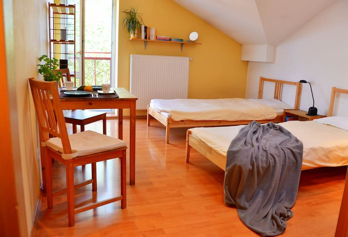 Panoramic and Quiet apartment near the Center