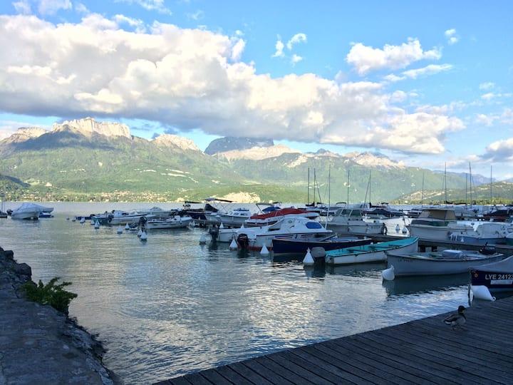 Lac d'Annecy : Appartement Dolce Villa