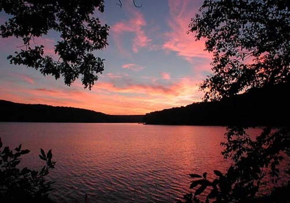 Sunset on Deep Creek