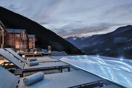 108m² Chalet mit privater Sauna und  Infinity Pool