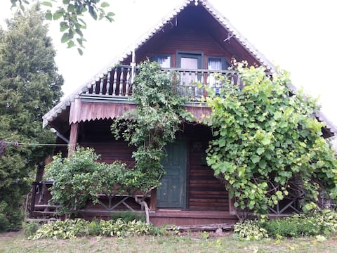 Family summer house in the Regional Labanoras Park
