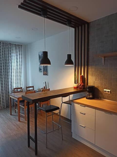Уютная квартира в 5 минутах от набережной и центра