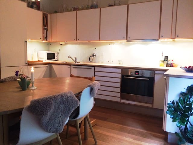 Access to fully equiped kitchen