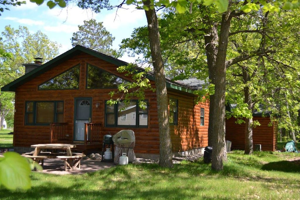 Leech lake cabin cottages for rent in federal dam for Cabins for rent in minnesota