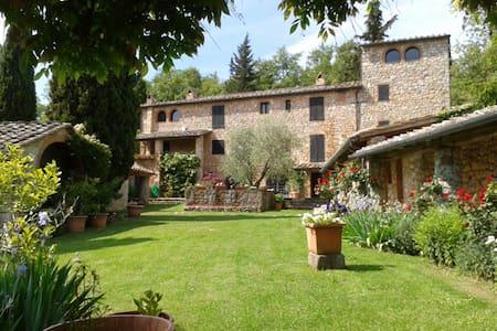 Casale Chianti con splendida vista - Monteriggioni