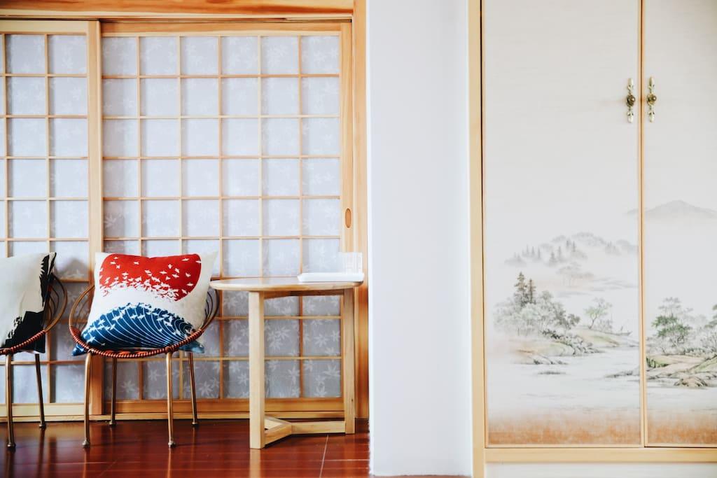窗明:小阁楼,温馨静谧,日式风格,原木色调,微注小窗明