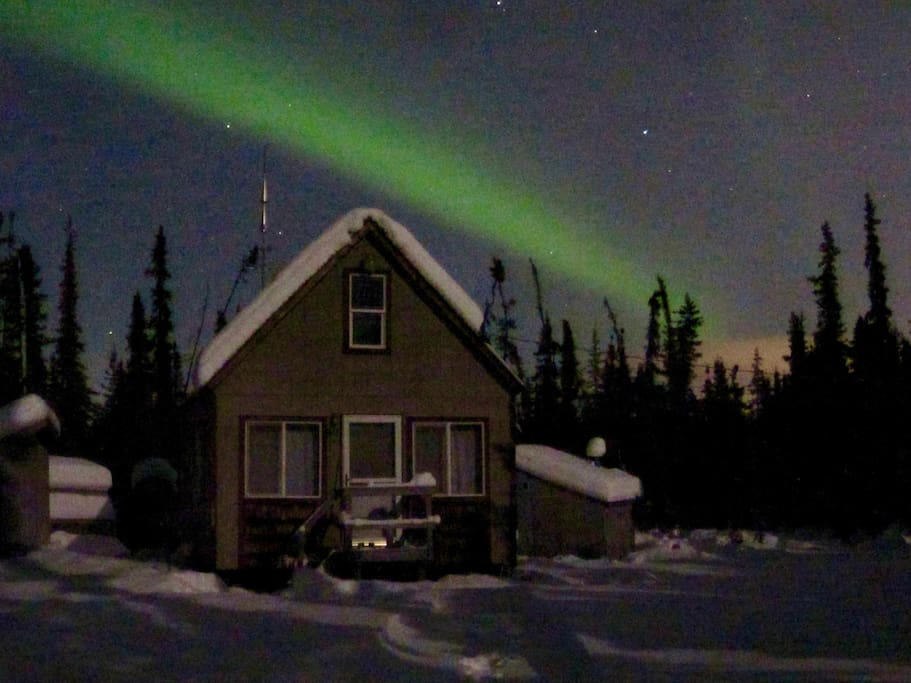 Fairbanks is in a prime location for Aurora viewing during darker months.
