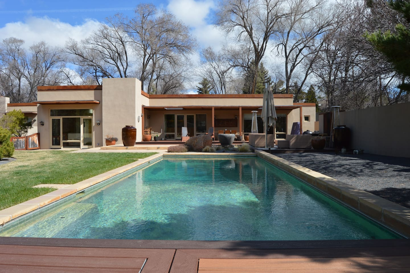 Your Private Salt Water Pool and Outdoor Living Area