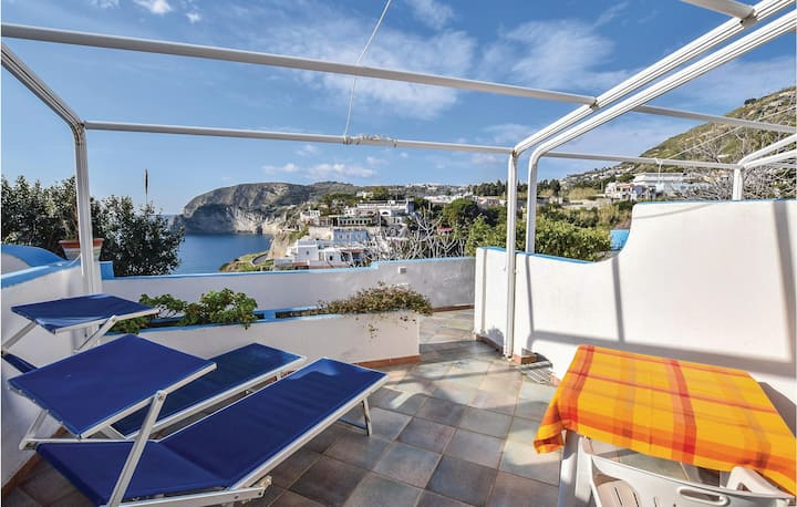 Amazing home in Sant´Angelo d´Ischia with WiFi and 1 Bedrooms