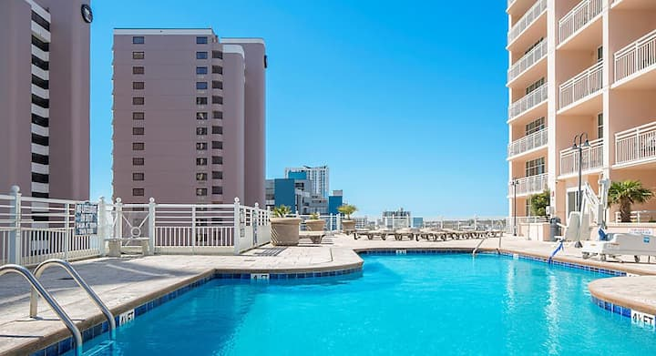 OCEAN VIEW from this Amazing 3 BR in Myrtle Beach!