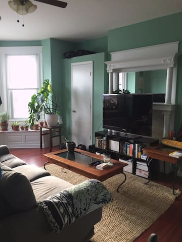 Spacious, Explorer-friendly, 1br Apt in Philly - Philadelphia - Lejlighed